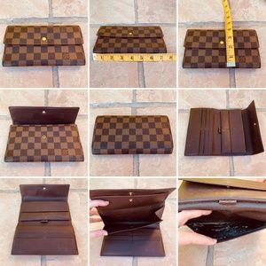 Louis Vuitton Damier wallet and key holder